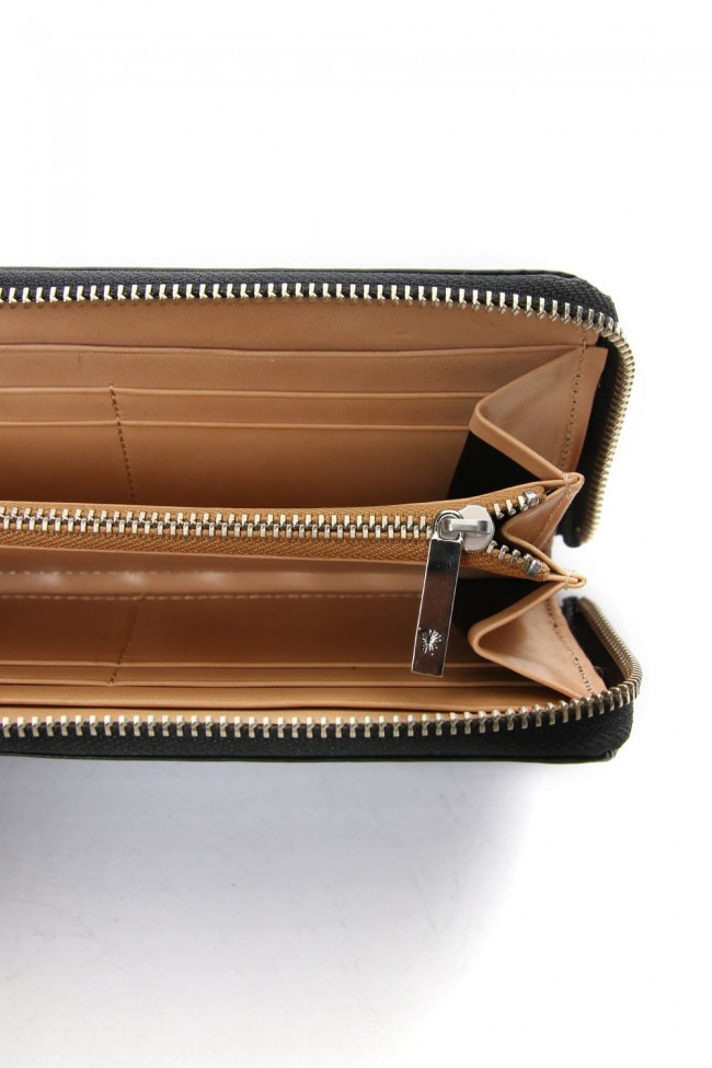 Studs Invisible Long Wallet Green