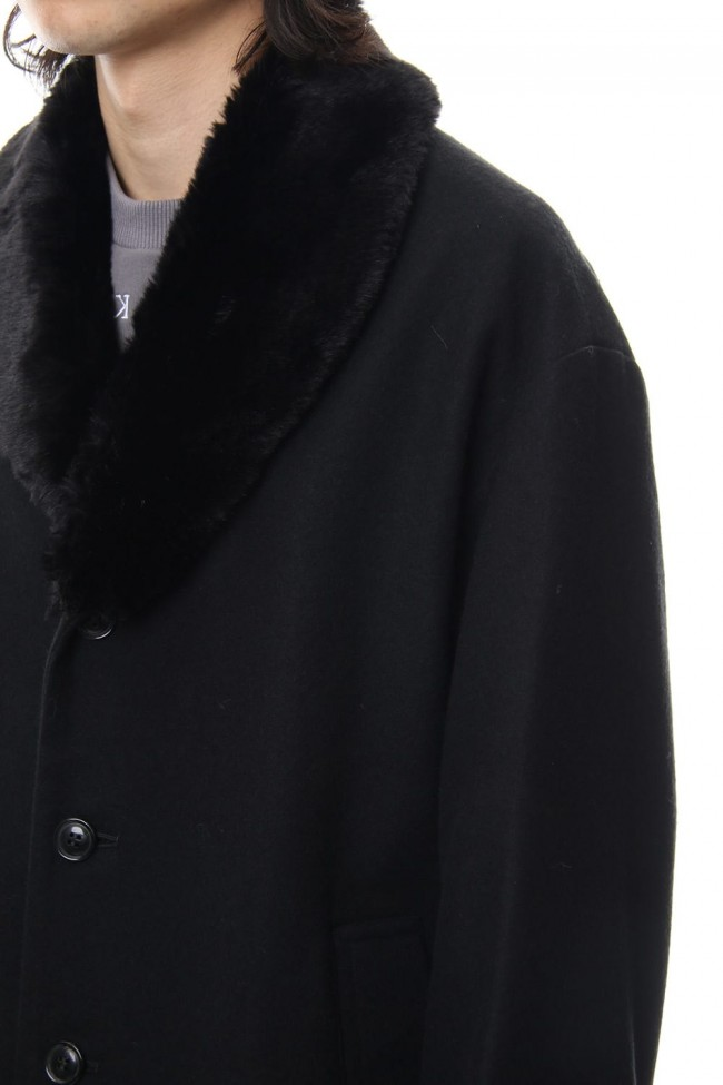 Fur Bench Coat
