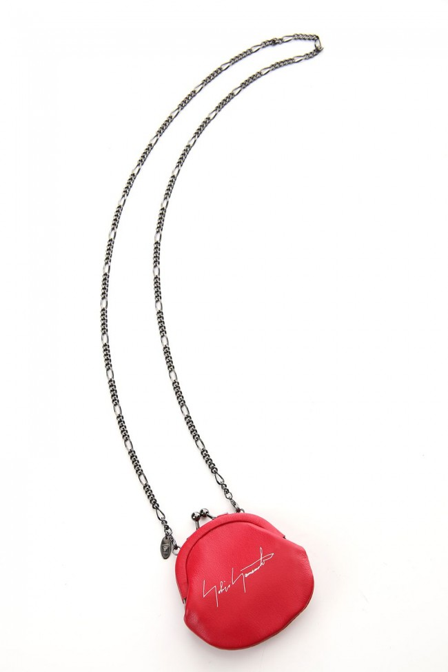 Frame purse Coin Case Red