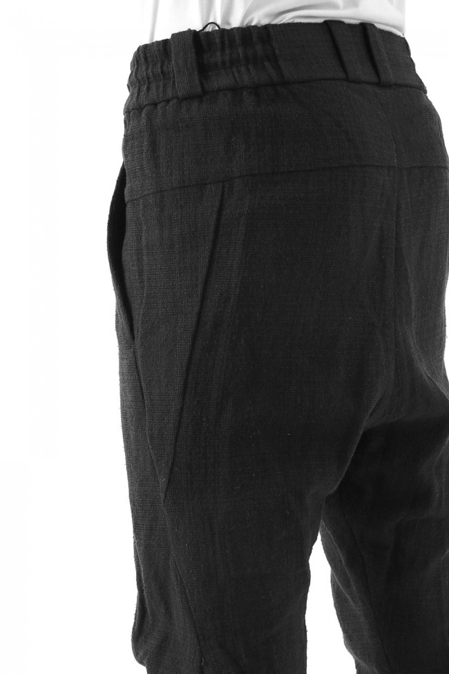 Easy Pants Silk / Linen Random Check