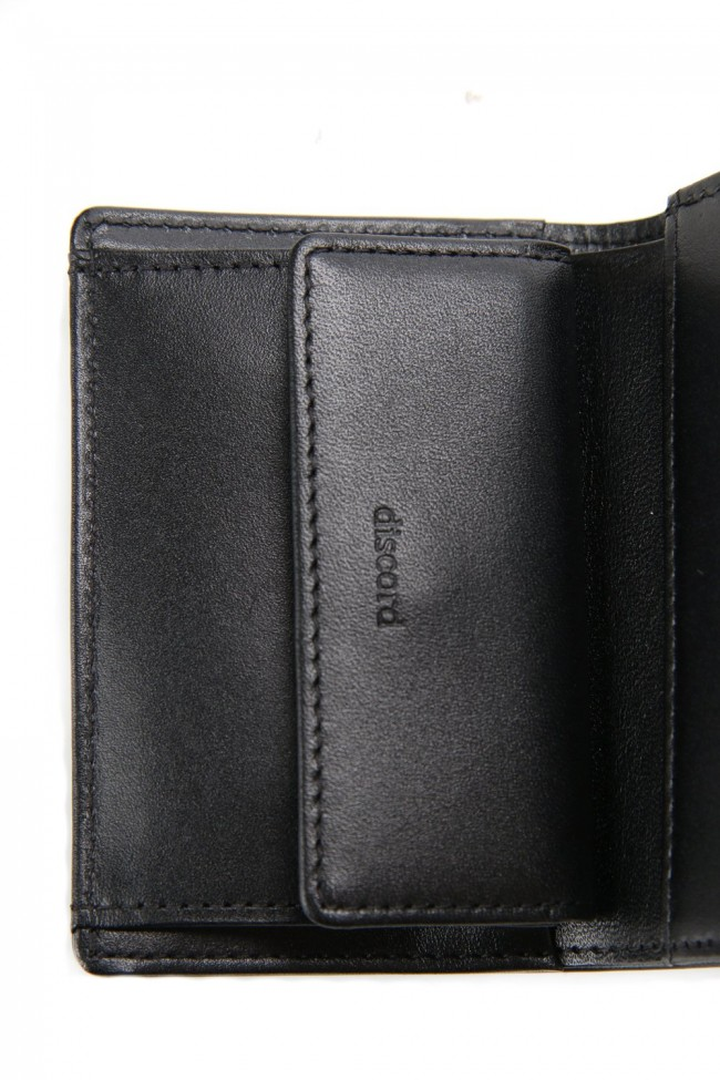Gloss smooth Tri-fold wallet