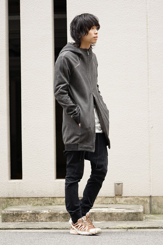 Medium Heavy jersey cold die long Parka - ST101-0029S