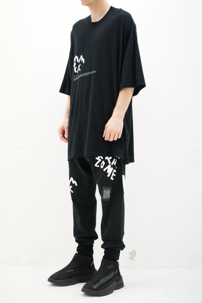 PT S/S cut&sewn Black