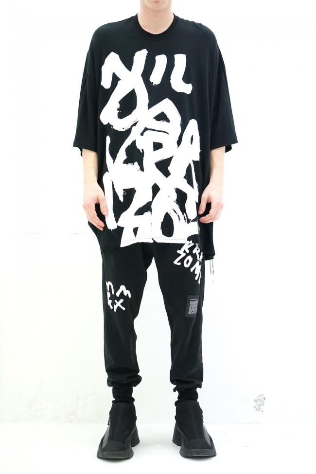 Graphics PT S/S cut&sewn Black