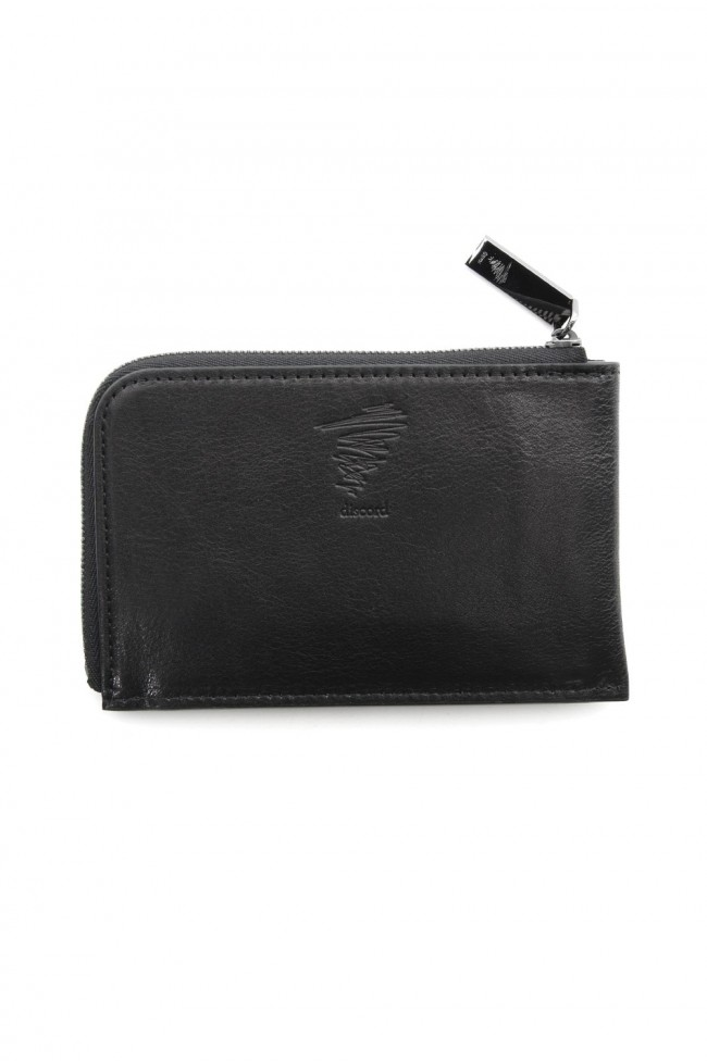 Antique leather compact wallet - DV-A07-703