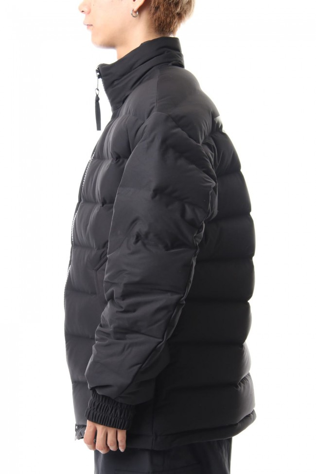 Seamless down Hooded jacket