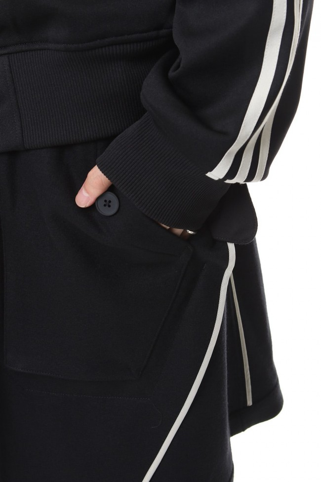 3 STP Reversible Layered Track coat