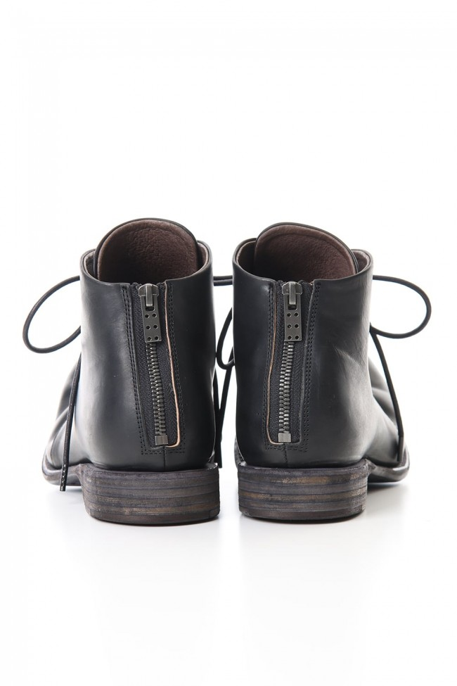 Guidi Calf Back Zip Ankle Boots
