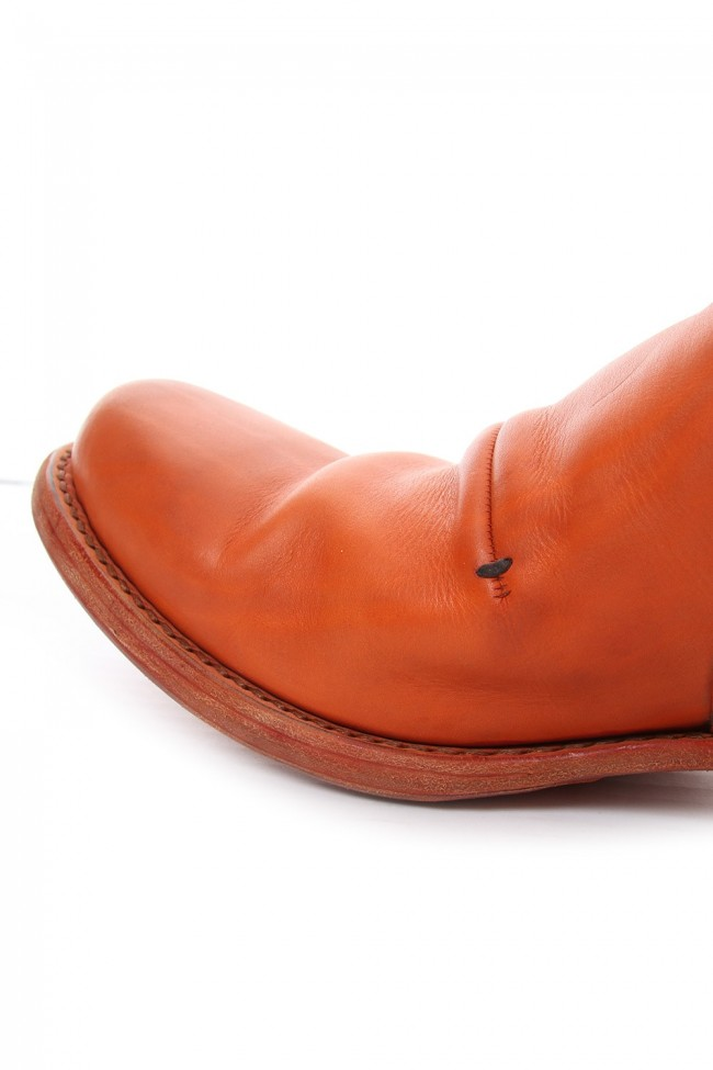 Shoes Calf leather - Orange