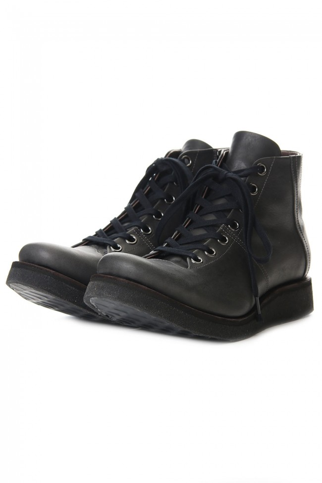 Monkey boots Horse leather - Charcoal