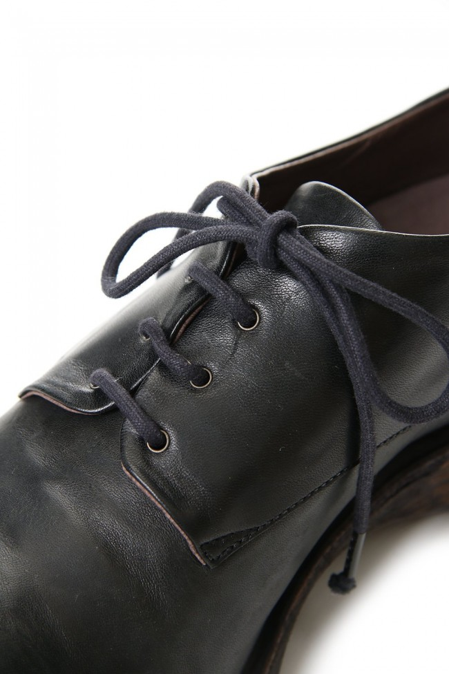 Classic shoes horse leather - Black