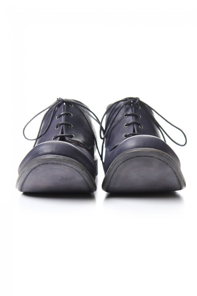 Classic shoes horse leather - Navy