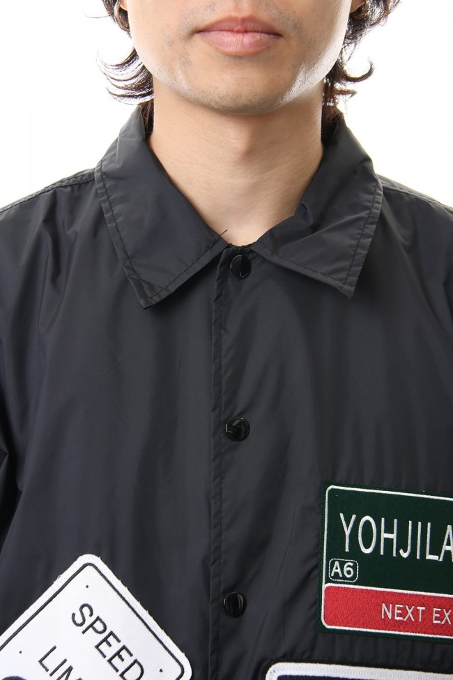 Wappen embroidery Coach jacket