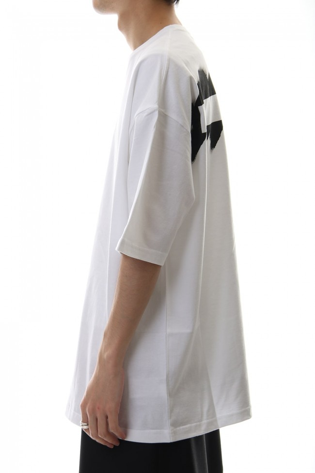 Painted Big T-Shirt typ.A White