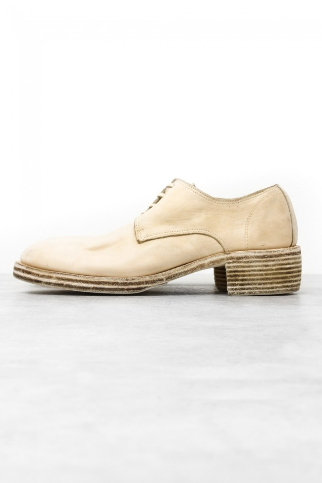 Derby Shoes Double Sole - Horse Full Grain Leather - CO13T