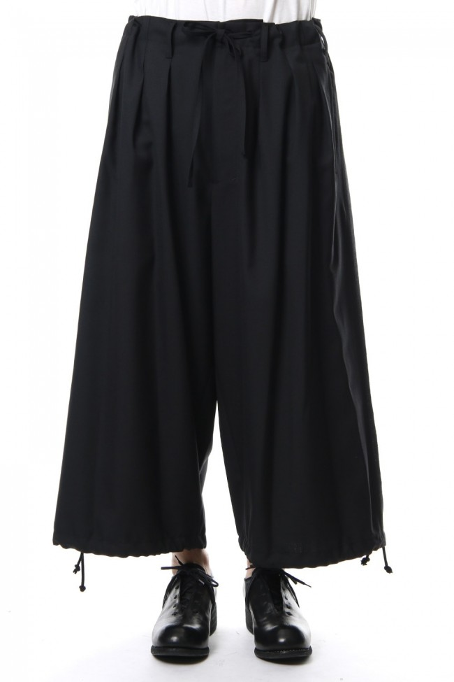 Balloon pants-Black-3