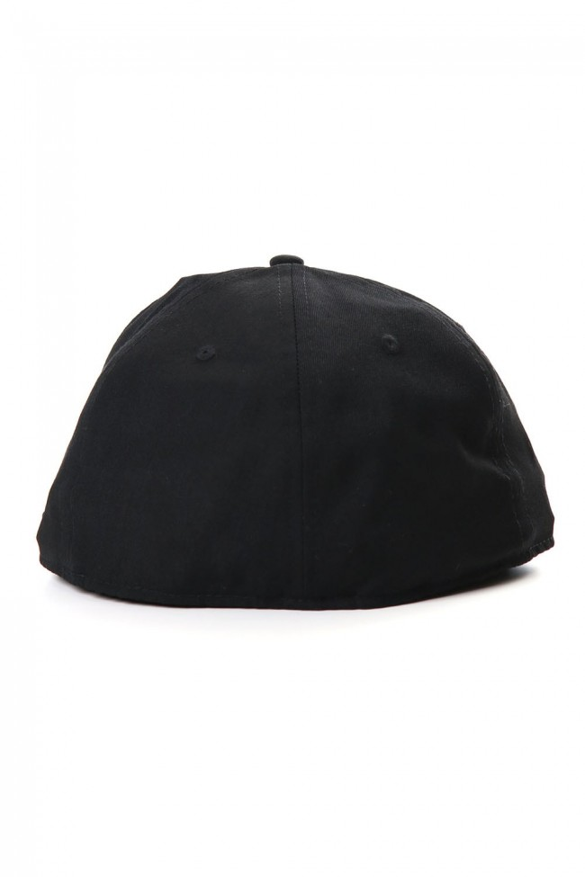 NEW ERA 59FIFTY YY Logo Gabardine Black x Black