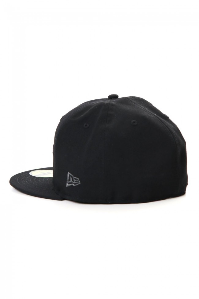 NEW ERA 59FIFTY YY Logo Gabardine Black x Gray