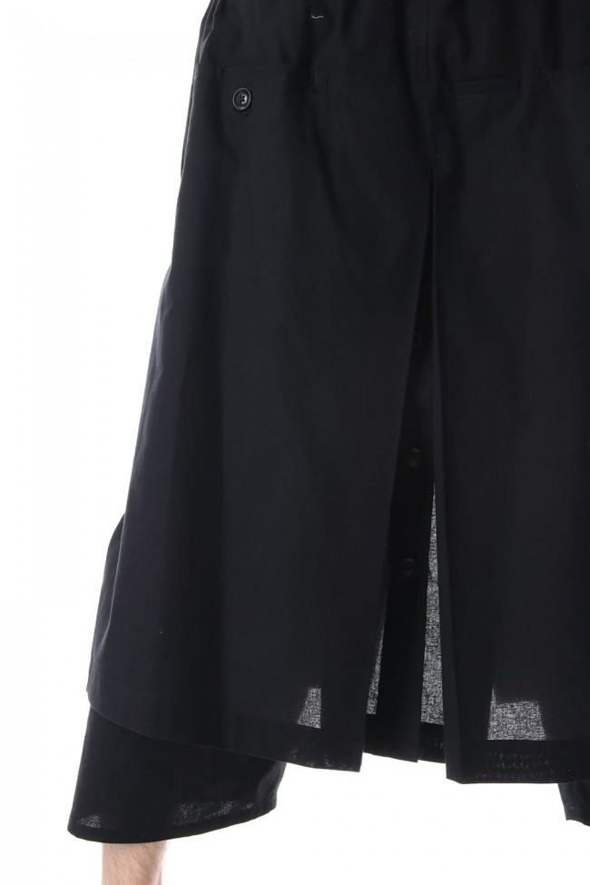 Embroidery Wrap Pants