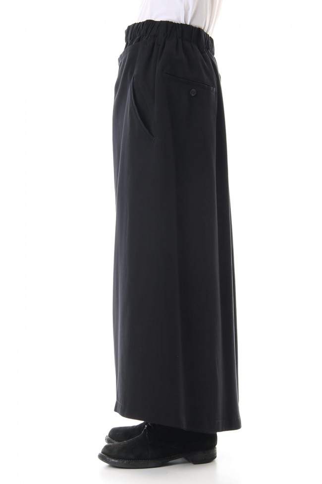 Burberry fabric Wide Wrap Pants