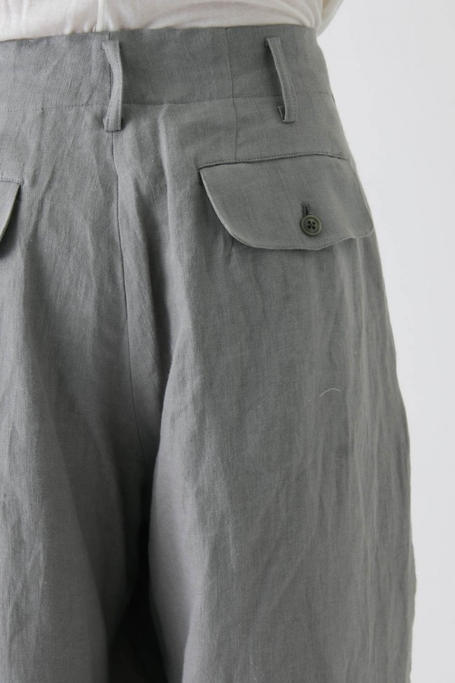 Switched Part Back Pocket Pants