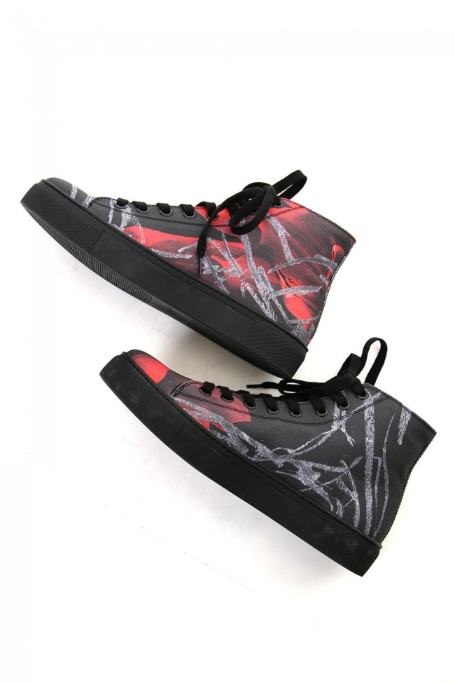 Print High Cut Sneaker C