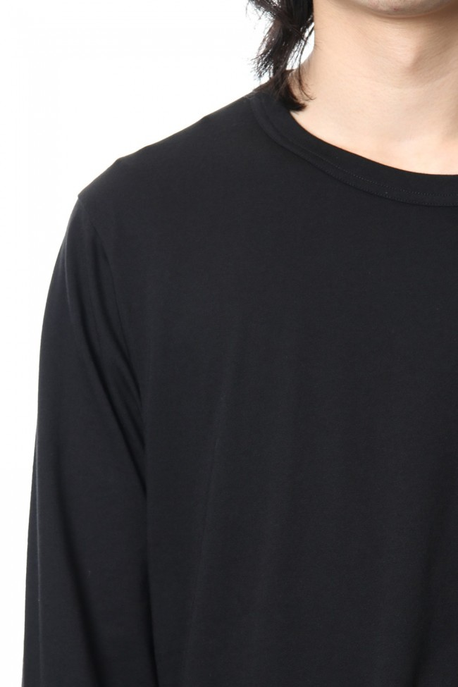 Diagonal Switch Long Sleeve Tee