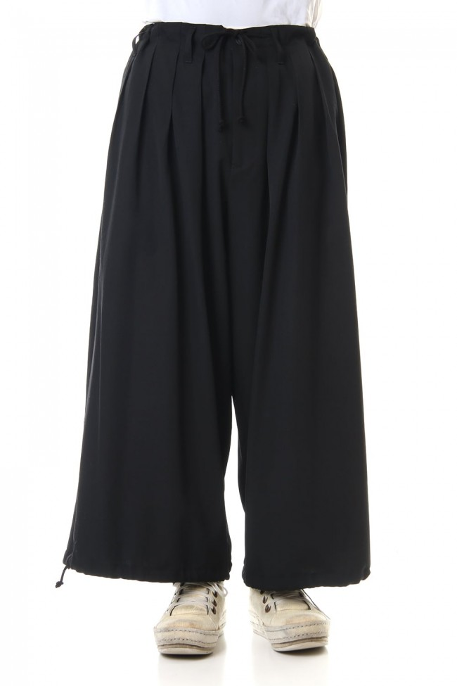 Wool Gabardine Balloon pants