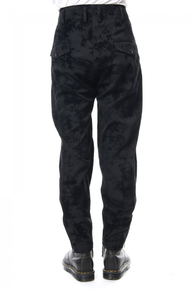 Knee Cross Fastener Pants