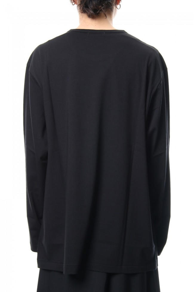 Round neck Long sleeve 30/- Shankar Jersey stitch Black