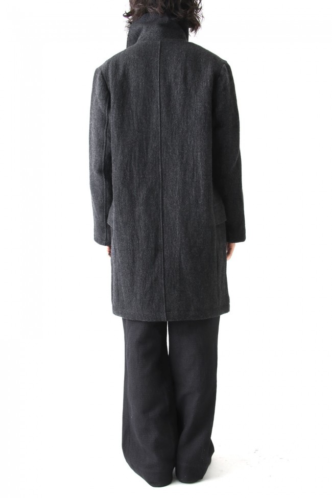 Coat CO35 Wool Cotton Stainless Steel Mixing W-Face