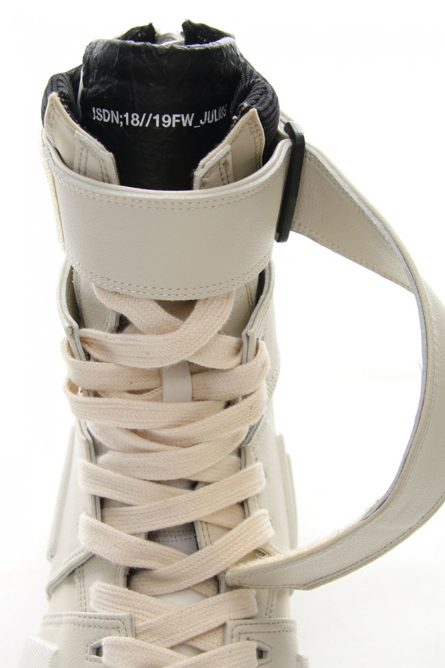 Coating Strap Edge Sneaker