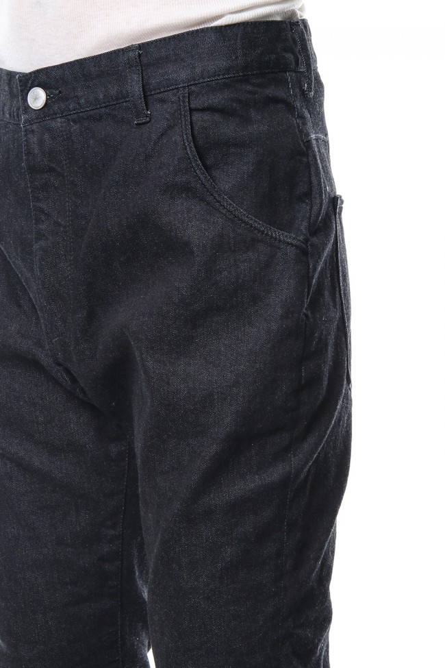 12oz Natural Stretch Denim Jodpurs Pants RB-018 B.INDIGO