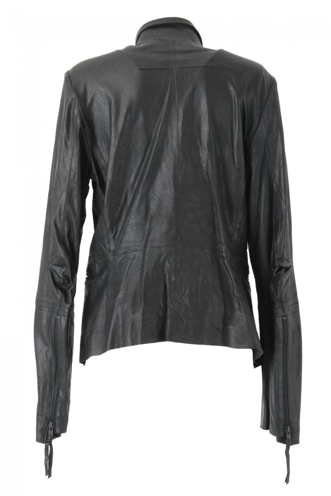 Goat Kid Ultra Light Leather Jacket - L01-J01