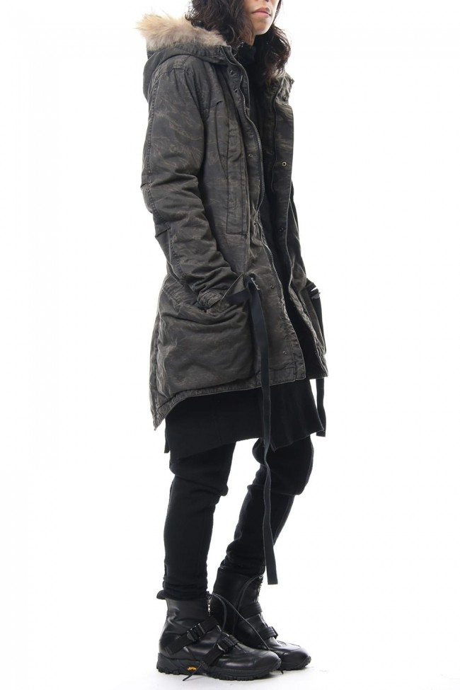 RVW collaboration military coat