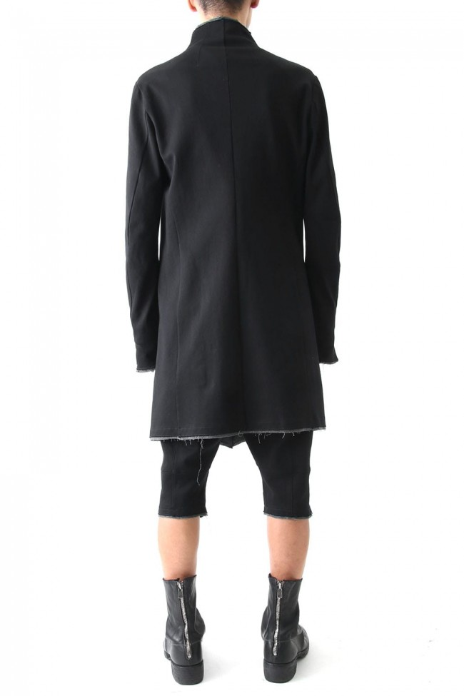 Heavy Jersey Cotton Jersey Coat