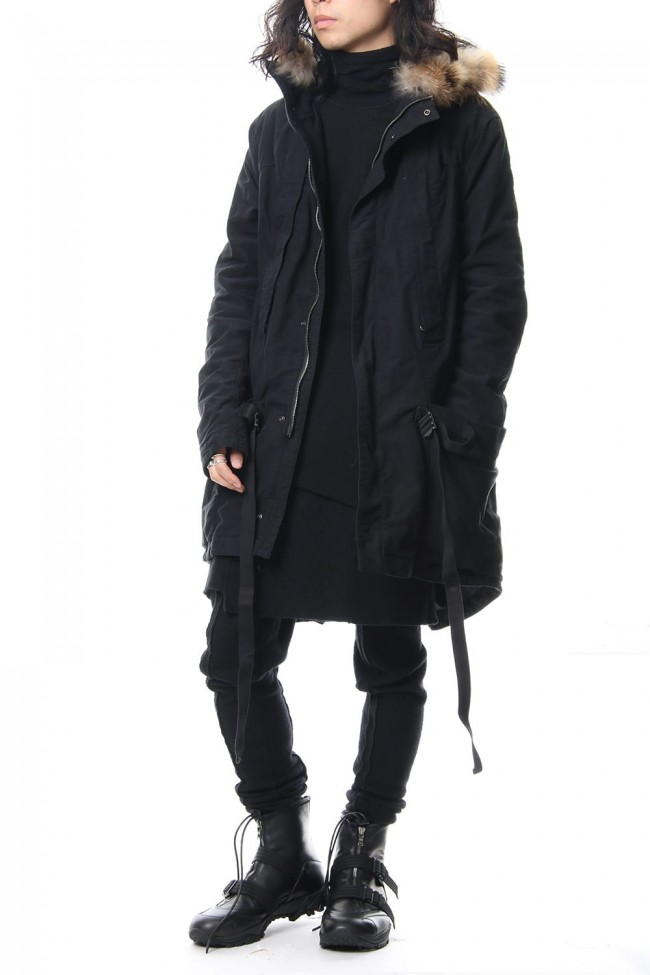 Stretch Moleskin Over Dye Mods Coat RBE-001