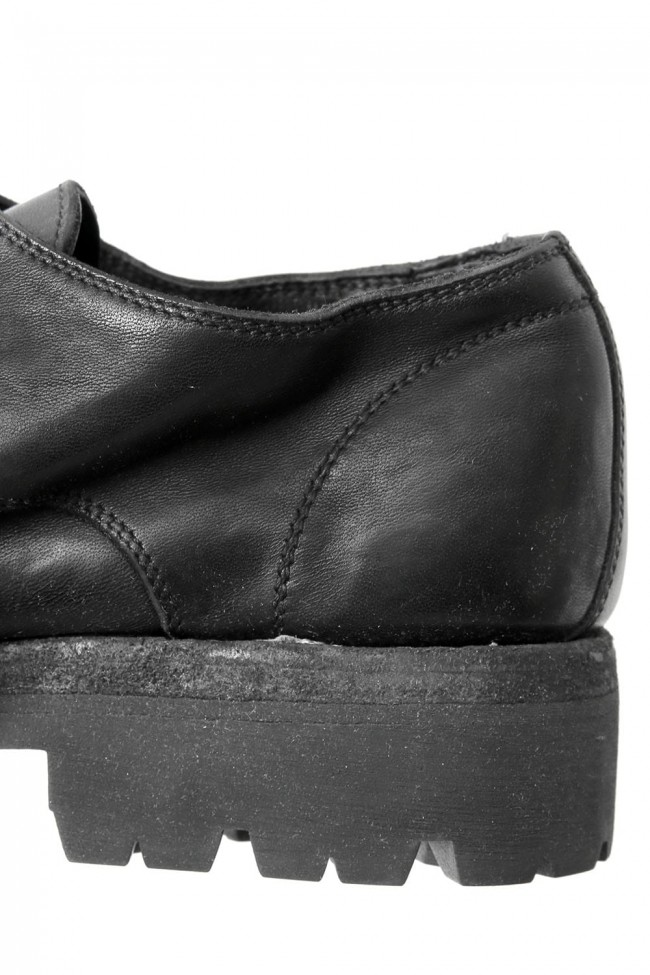 Classic Derby Sole Rubber - Horse Full Grain Leather
