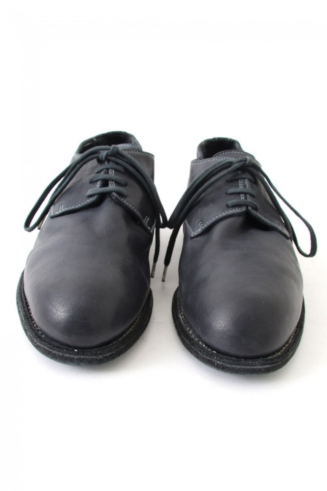 Vintage Ball Derby Shoes Donkey Leather Full Grain - 112