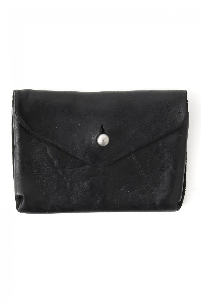 Leather Coin Case - EN01 - BLACK