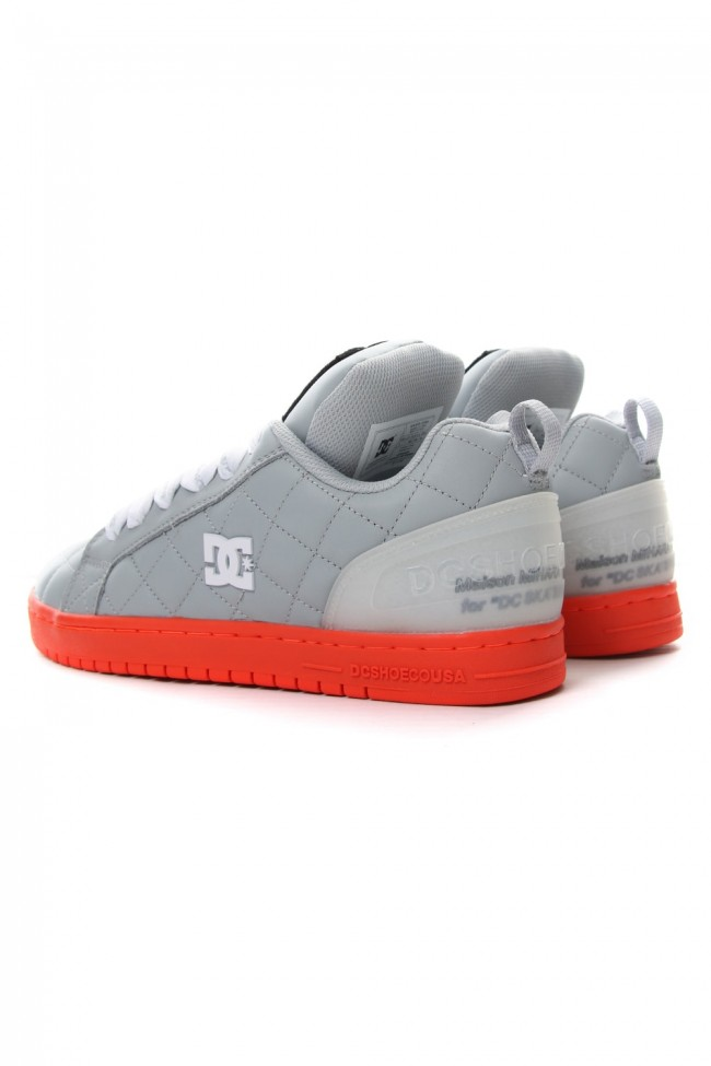 DC Shoes Collaboration Sneaker Gray