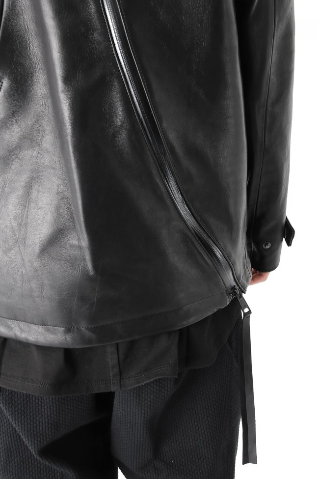 Yoemite Hooded Leather Jacket 4.0