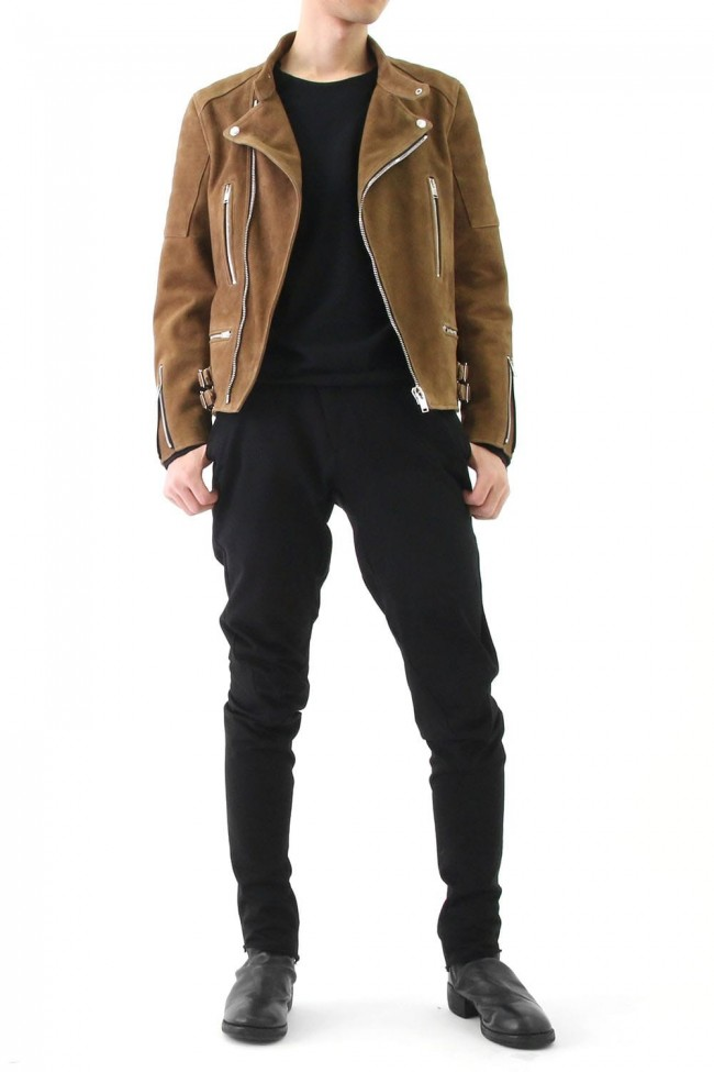 SUEDE BIKERS JACKET
