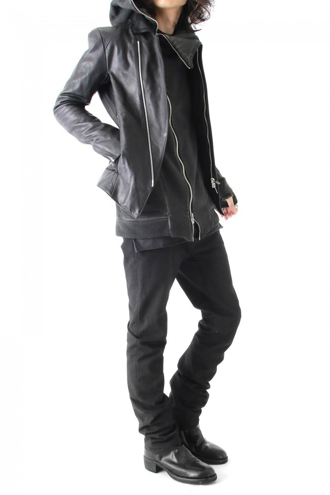 Fascinate special edition Semi curve trousers Black