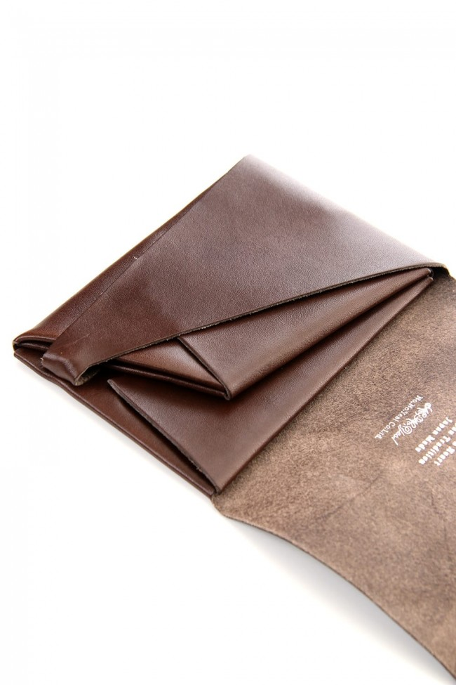 No,No,Yes! -shosa- BASIC Short Wallet 1.0 Dark Brown