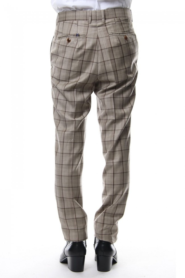 TAILORED LINE SIGNATURE TROUSERS