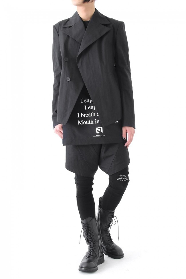 17SS Layered W Jacket