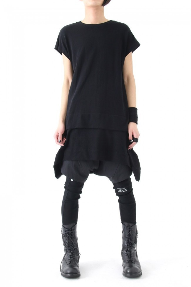 17SS Folding Cut-Sew BLACK