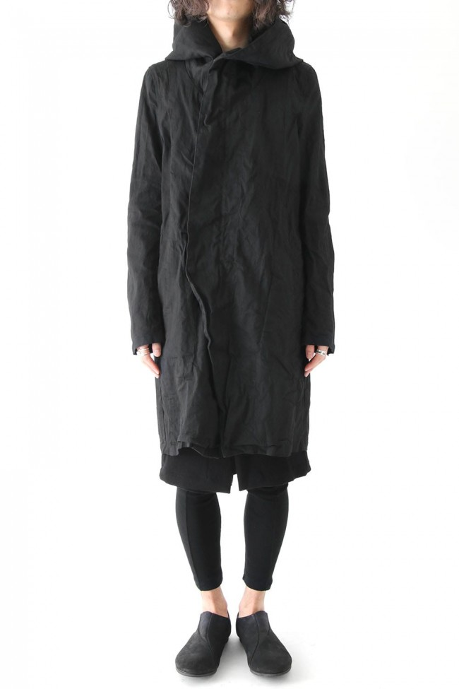 17PFW Long Hooded Jacket