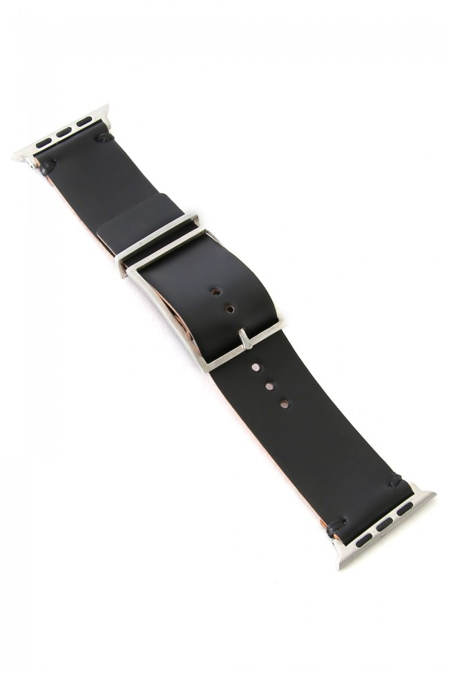 Apple Watch Band - Guidi Cordovan - Silver Type 2